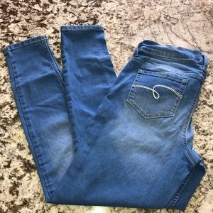 Justice Mid rise Jegging Size 12 plus